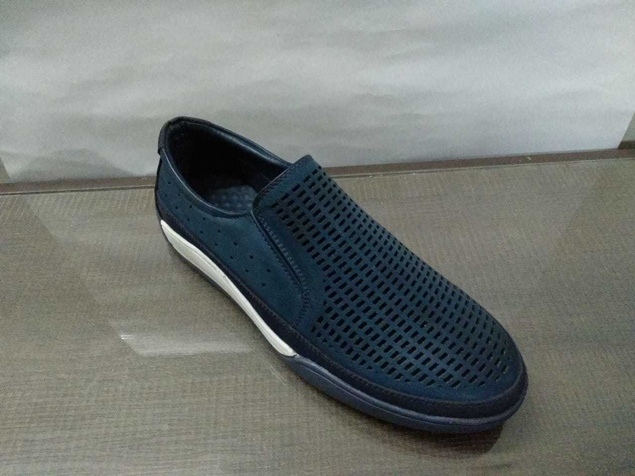 SKY BLUE COLOUR CASUAL LOAFER'S SHOES FOR MEN'S