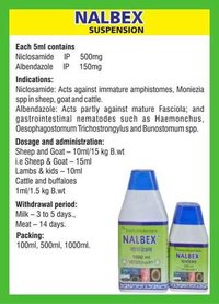 Niclosamide and Albendazole Solution (Nalbex)