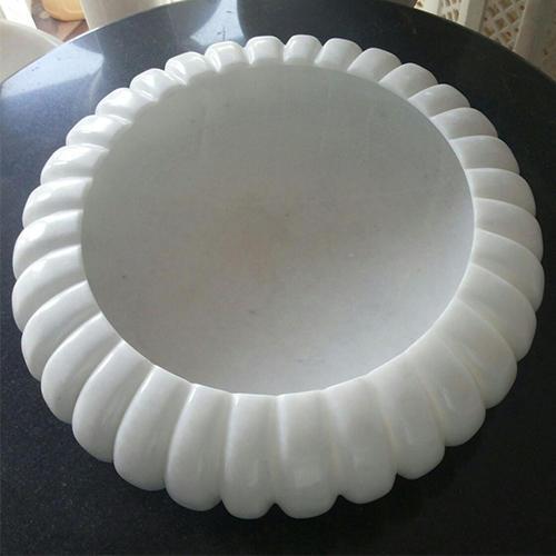 Makrana White Marble Bowl