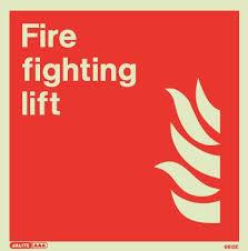 Fireman Evacuation Lift