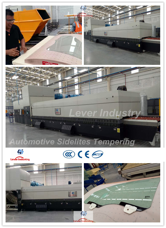 Auto Side Window Glass Tempering Furnace