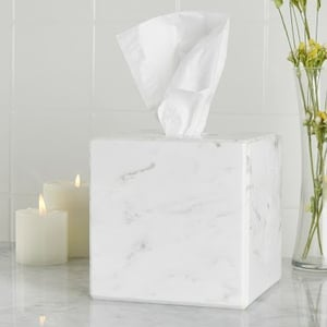 Marble Tissue Cover