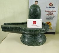 Green Marble Shivling