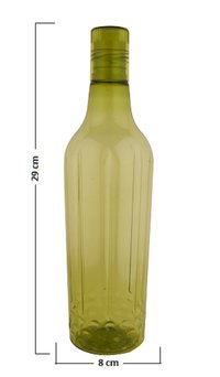 Plastic Water Bottle Green