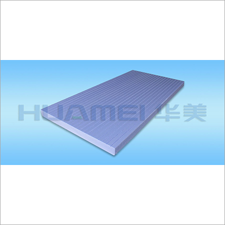 Double Slotted Extruded Polystyrene Sheet
