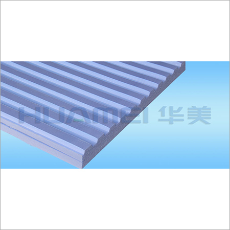 Trapezoidal Groove Extruded Board