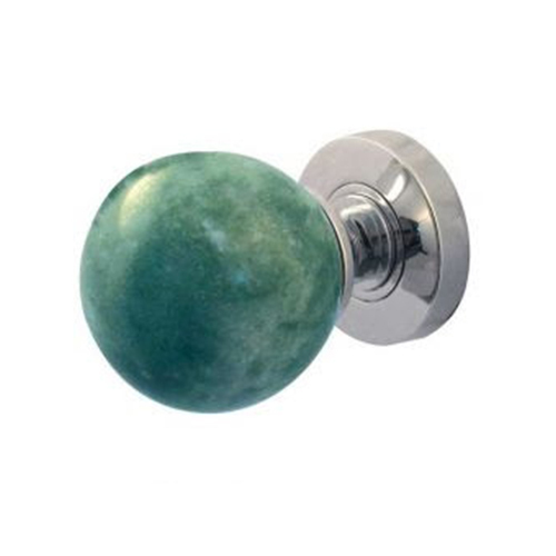 Green Marble Door Knobs