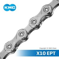 KMC CHAIN X10 10 Speed Anti-Rust Bicycle Chain (Taiwan HQ)