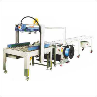 Automatic Strapping And Sealing Line