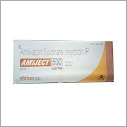 Amiject 500 mg Injection ( Mono Carton )