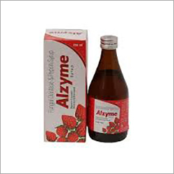 Alzyme Syrup (Mixed Fruit Flavour)