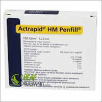 ACTRAPID HM PENFILL