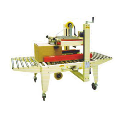 Side & Top Belts Driven Carton Sealer