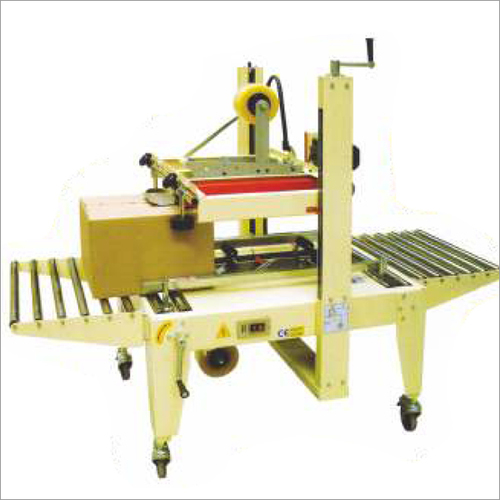 Top & Bottom Belts Driven Carton Sealer