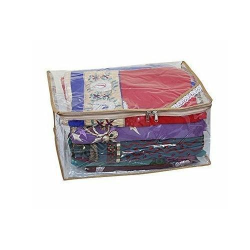 Transparent Saree Cover Bag