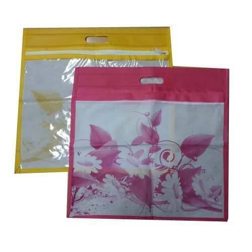 D Cut Fancy Saree Cover Bag