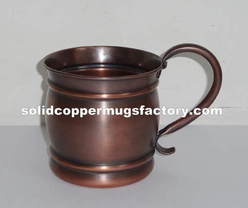 Antique Copper Mugs