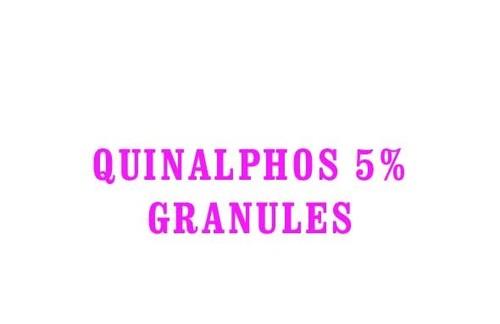 QUINALPHOS 5% GRANULES