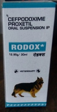 Cefpodoxime proxetil oral suspension (RODOX)