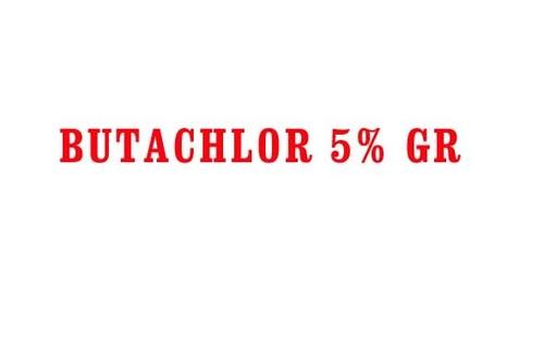 BUTACHLOR 5% GR