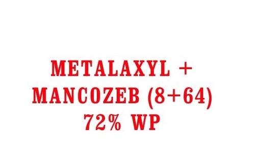 METALAXYL + MANCOZEB (8+64) 72% WP