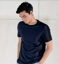 Brown Color Round Neck T Shirts