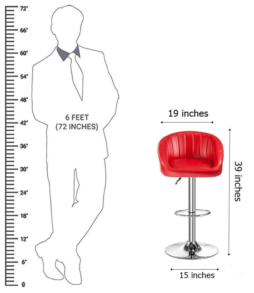 Adjustable Stool- Kitchen Stool/Office Stool/Chair/Cafeteria Stool/Bar Stool