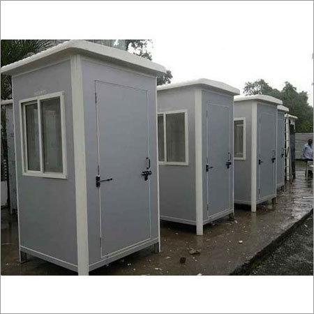 Puff Portable Security Cabin