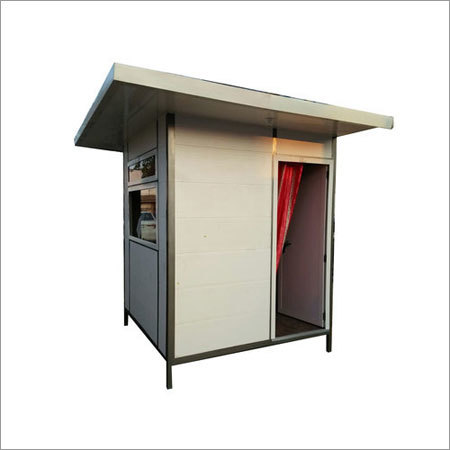 Plasto Portable Security Cabin