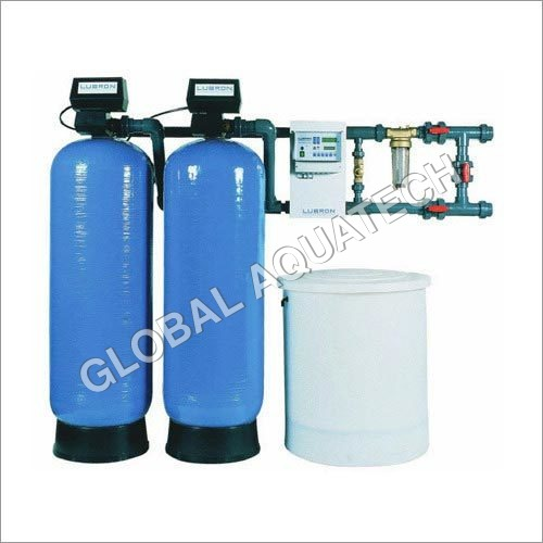 Semi-Automatic Dual Water Softener Plant(500)