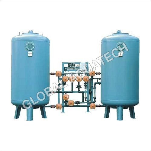Stainless Steel Semi-Automatic Water Softening Plant(100)