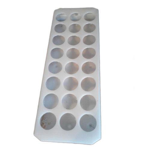 Sample Bottle Stand Plastic & Steel