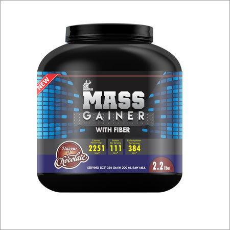 Mass Gainer with Fiber