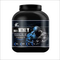 80 Percentage Whey Protein Concentrate