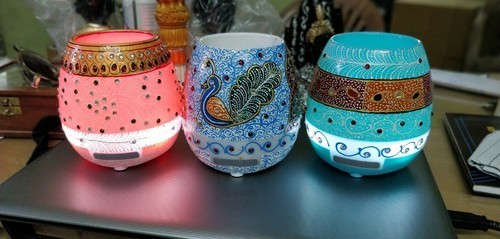 Hand Painted Musical Pot Bluetooth Speaker