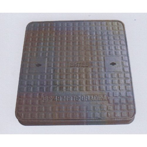 CI Manhole Cover - Double Seal Solid Top