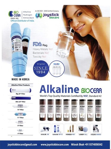 Biocera Alkaline Filter india