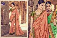 Traditional saree shoping