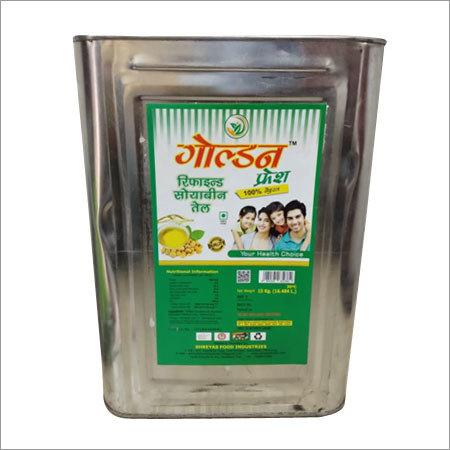 Refined Soyabean Oil Tin