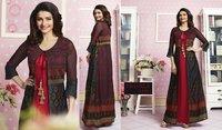 Designer gerogette fancy gown kurti