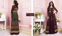 Designer Gerogette Fancy Gown Kurtis
