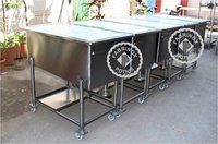 SS BOTTLE SORTING TROLLEY