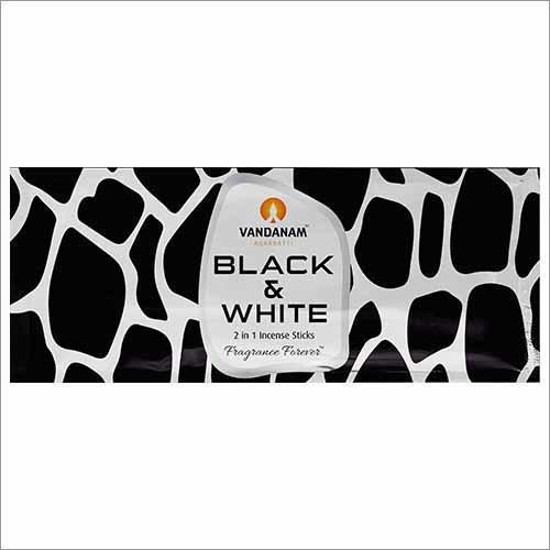 Black & White MRP 15 Pouch Incense Sticks