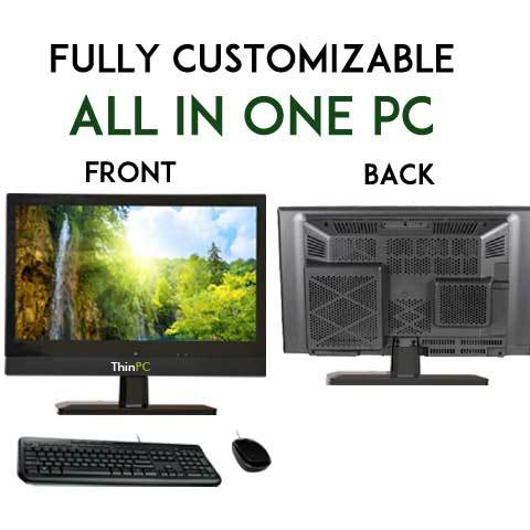 All in One 19.5 Screen Computer