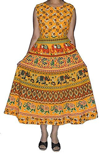 Rajasthani Traditional Long Midi Dress