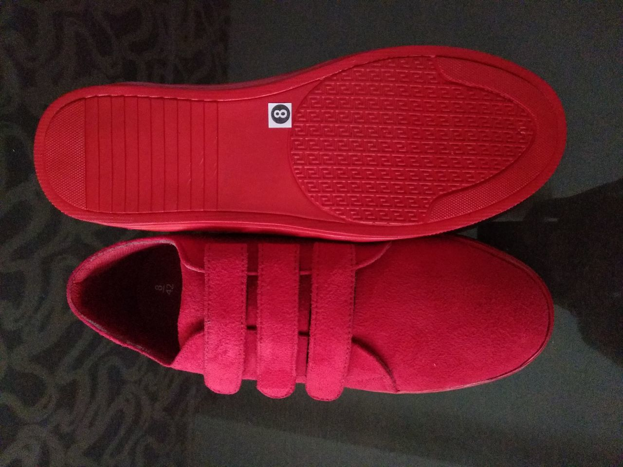 CASUAL RED COLOUR STYLISH SHOES FOR MEN'S