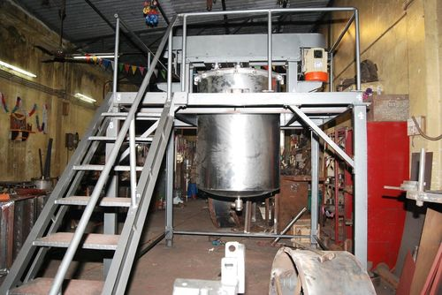 Stainless steel mixer for food industries