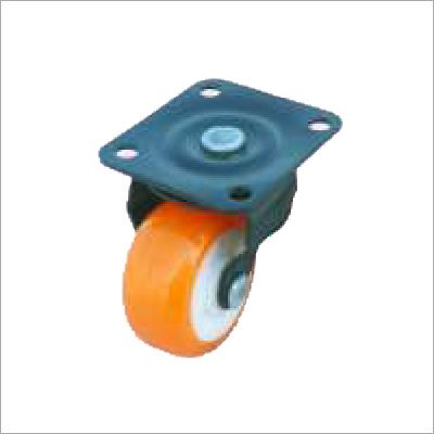 Puff Wheel Castor (P.U) (P.Co)