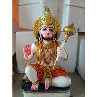 Fiber Hanuman Statue