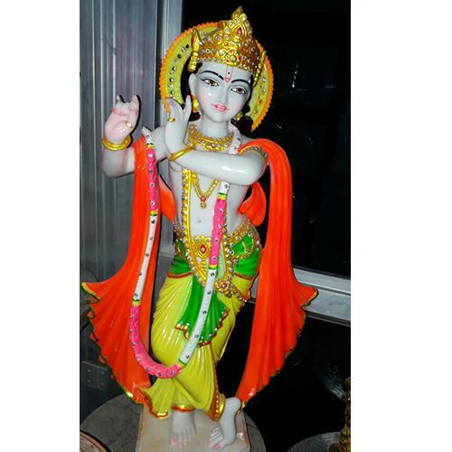 Fiber Krishna Statue